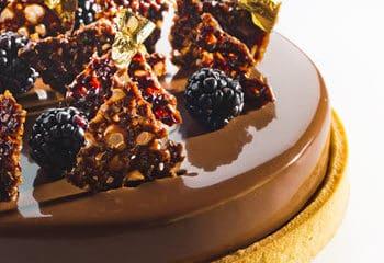 Pie Raspberry Chocolate